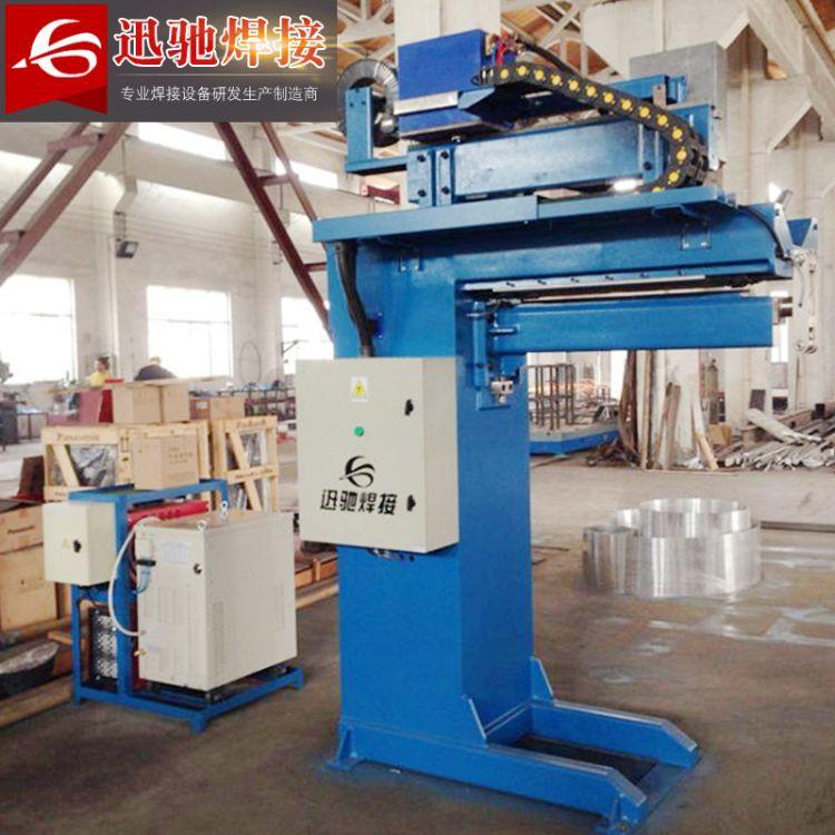 自动缝焊机 卧式 无锡厂家定制 600mm直(纵)缝焊机自动缝焊机