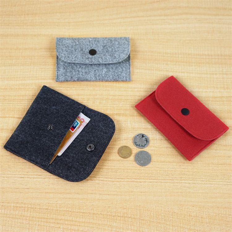 毛毡包 厂家直销毛毡笔袋毛毡手机包零钱包 可按需定制批发