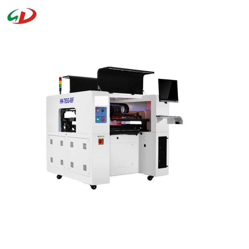 晟典 国产全自动SMT桌面式贴片机 八头LED贴片机