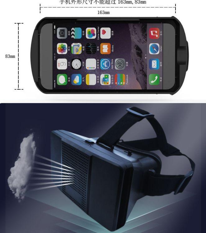 VR 3d眼镜 头戴式虚拟现实3D眼镜 VR glasses 清 库存工厂直销
