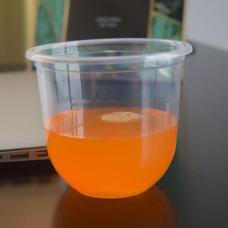 加厚款一次性Q-360布丁杯 透明塑料杯果冻杯 双皮奶碗酸奶杯定制
