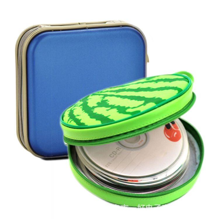 厂家直销 光盘收纳包 加工环保CD包 塑料车载家用卡碟包 方形批发
