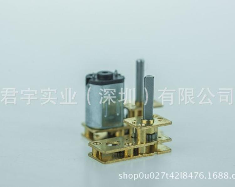 N20减速齿轮箱电机/调速电机/直流微型减速马达/指纹锁减速电机