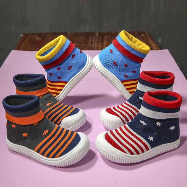2018冬款软底宝宝鞋加厚保暖学步鞋男女童棉鞋0-3岁高帮加绒棉鞋