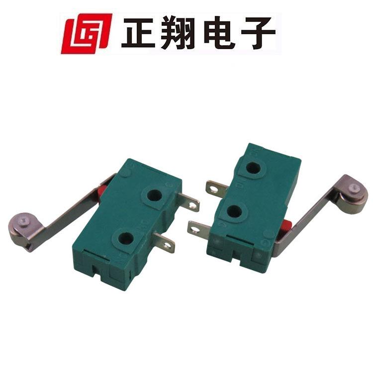 正翔供应中型微动 热水器微动开关 脚踏焊接限位开关ZW12-A