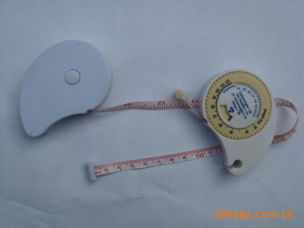 厂家供应 BMI健康卷尺 BMI胃形卷尺 BMI礼品卷尺 BMI卷尺 促销