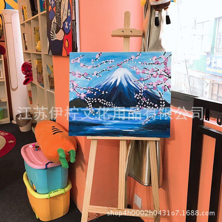 油画布框 油画颜料画板 背钉油画框 美术用品油画框 可定制批发