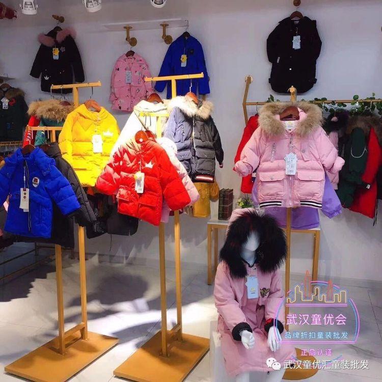 【厂家直销】品牌童装太阳雪人儿童羽绒服中长款加厚羽绒连帽外套