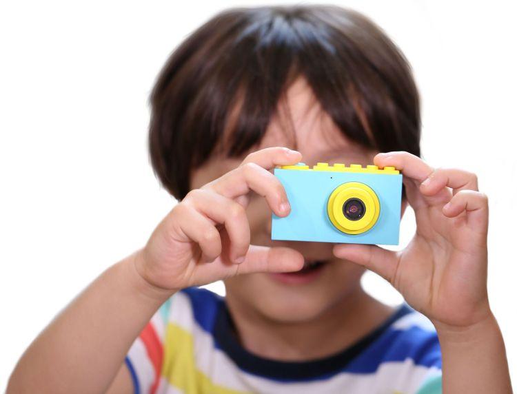跨境GM11儿童数码照相机搜米可爱迷你有趣味创造力玩具单反摄像机