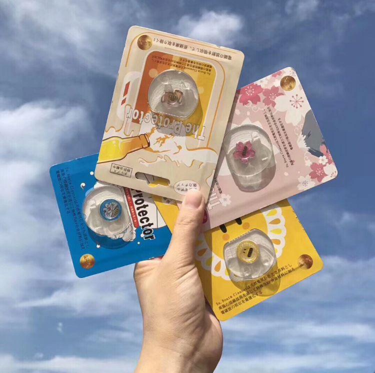 日本The Protector手机防辐射贴 孕妇儿童电脑防辐射电磁防护贴纸