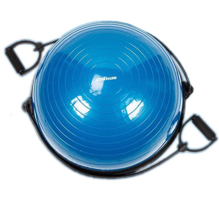 【厂家直销】瑜伽半球 平衡垫   PVC普拉提球 平衡健身球