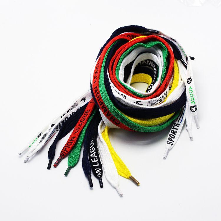 直销48锭涤纶红色黑白颜色LOGO裤腰带合金封头帽绳等服装绳子