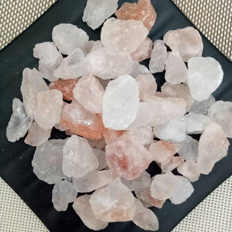 水晶盐颗粒 喜马拉雅竹炭盐块 水晶沐浴沙
