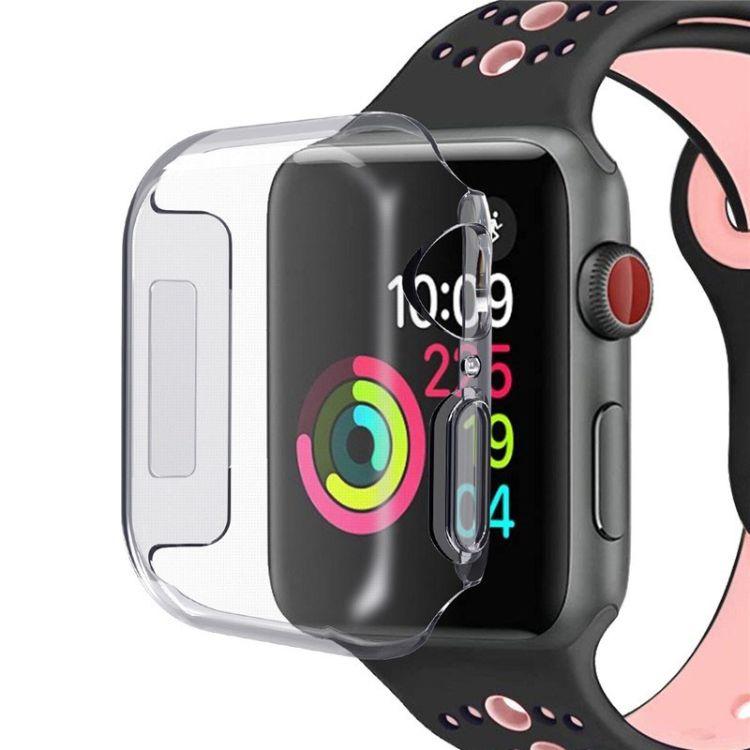 适用于苹果手表4代透明保护套全包保护壳Iwatch TPU软壳手表套
