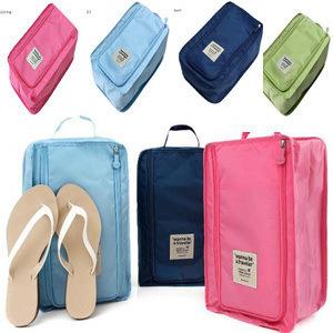 多功能旅行防水鞋盒收纳鞋袋 便携式手提袋整理包一件代发