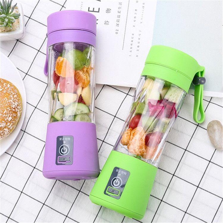 新款便携式榨汁机迷你小型家用充电式电动水果女神杯果汁杯榨汁机