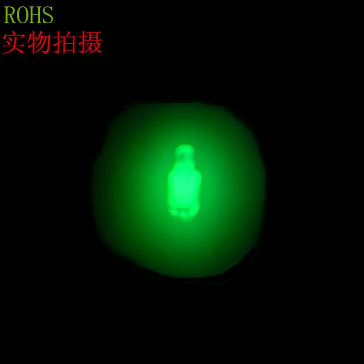 供应销售 氖灯 氖泡 氖管4*10 绿光