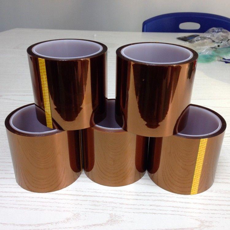 直销 茶色耐高温胶带 LED电源包扎专用 耐温280度 高压绝缘胶带