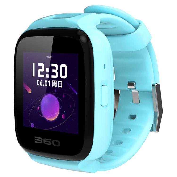 360儿童电话手表7C拍照游泳防水版手电筒智能安全GPS定位 W802