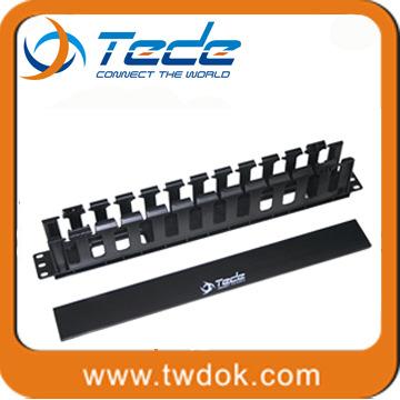 特的 1U 网络机房 优质塑料机柜理线架 Cable Management