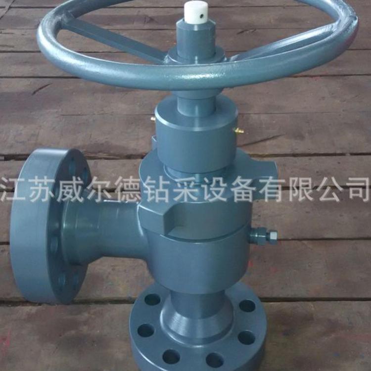 加工生产 API 6A仿卡梅隆高压手动可调笼套式节流阀 筒形节流阀