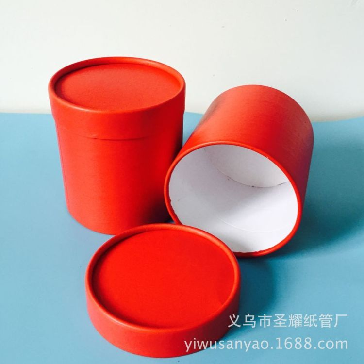 长期供应 石英粉石英砂大号纸桶 原色纸桶 白色塑料盖板纸桶