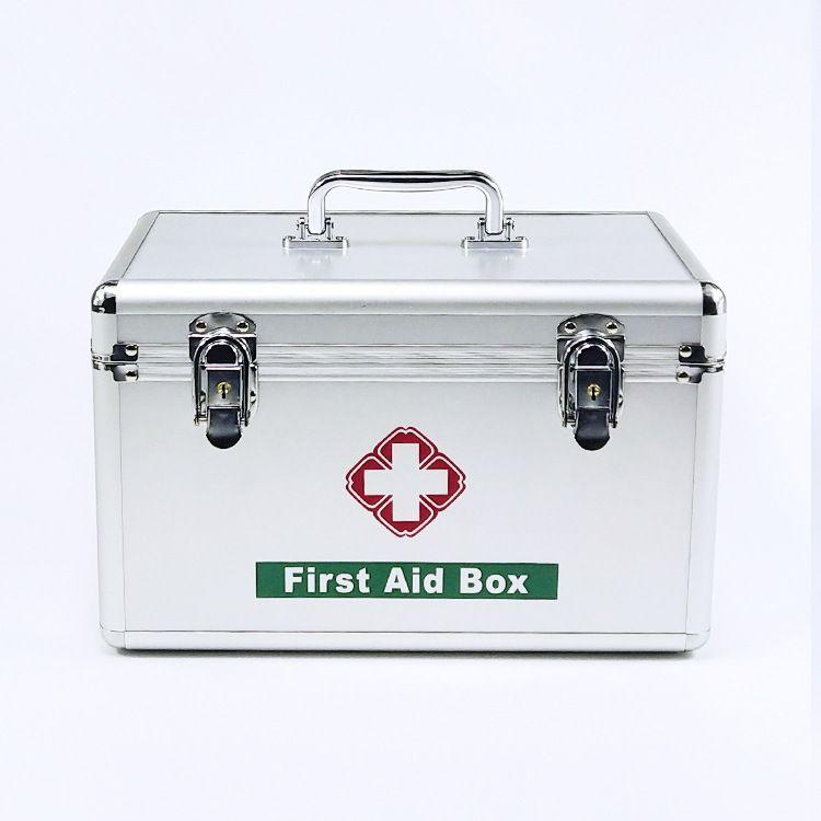 铝合金医药箱家庭用急救箱特大中小号医疗用品收纳药箱多功能出诊