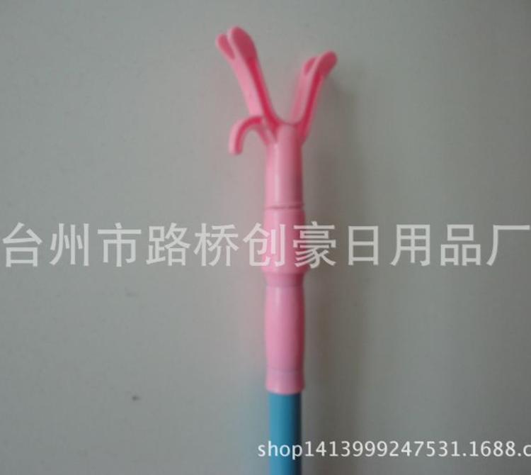 新款 供应内外双锁伸缩衣叉杆,大大的衣叉头,长度可定制
