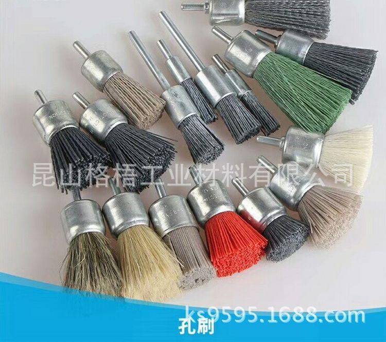 立式平面砂布轮带柄钢丝轮610*100砂带T形钢丝轮36#1000#砂带