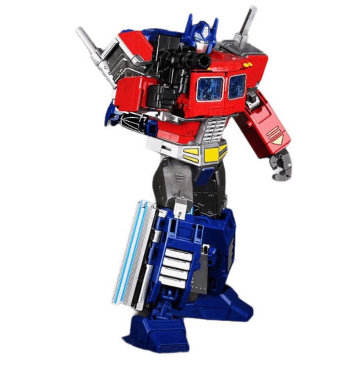 黑曼巴变形金刚玩具擎天战柱合金版汽车机器人带车厢战地司令儿童男孩变形玩具车批发