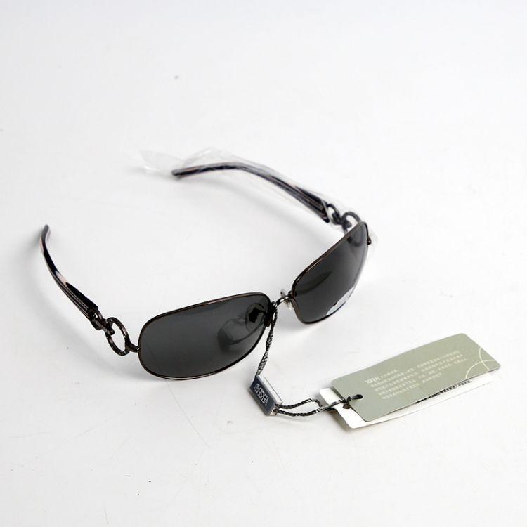 VERSEAU外贸出口超轻男女时尚偏关眼镜全金属框架太阳镜v9639库存