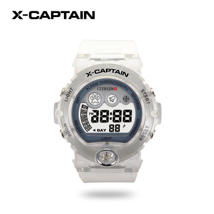 手表美观透明硅胶学生多功能电子运动手表 户外运动时尚手表批发