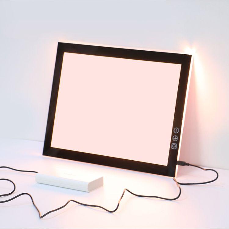 鑫照双色调光A4动漫拷贝台LED透写台看片台书法临摹台厂家直销