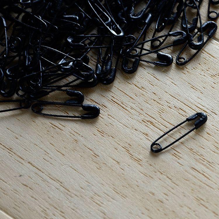 银花牌安全小钩针 手穿绳吊绳 金色黑色服装辅料吊牌金属别针批发