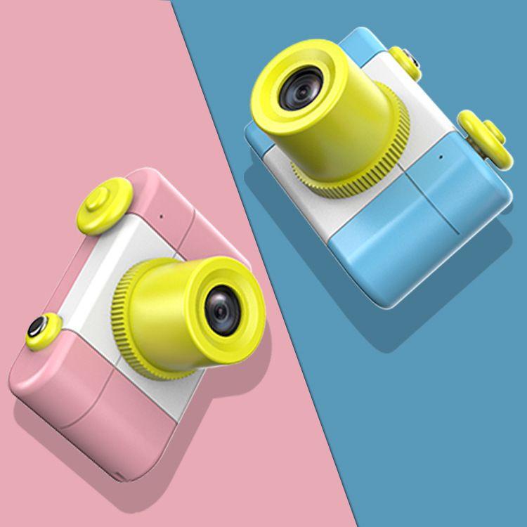 儿童数码相机小型录像机运动相机小单反玩具200万高清亲子互动