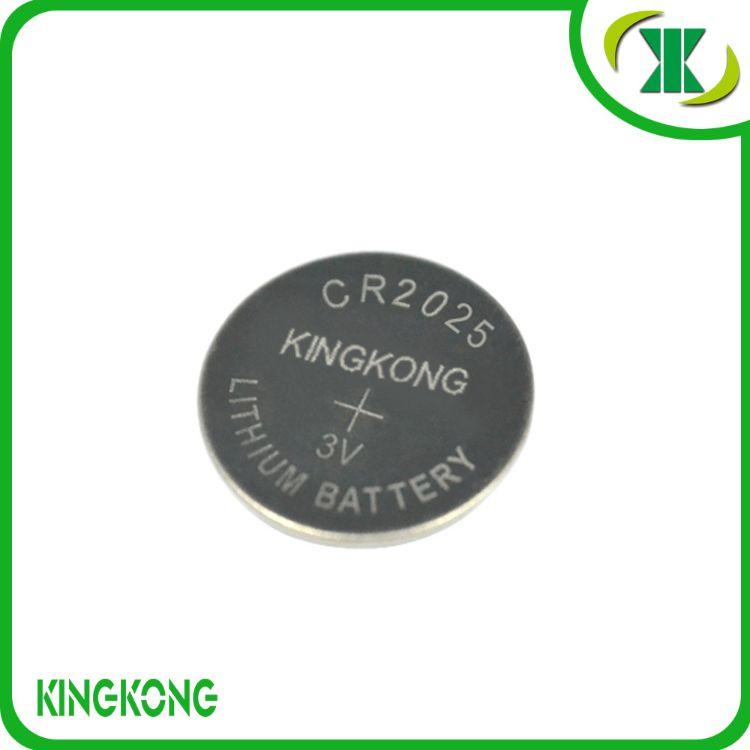 供应 锂锰扣式电池 CR2025 3V锂电池  符合ROSH认证