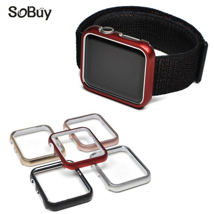 适用苹果手表金属边框适用apple watch保护壳 iwatch铝合金保护套