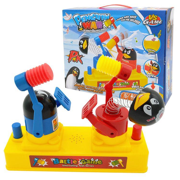 新款升级版带音乐互敲企鹅 亲子互动 新奇特搞笑益智玩具厂家包邮