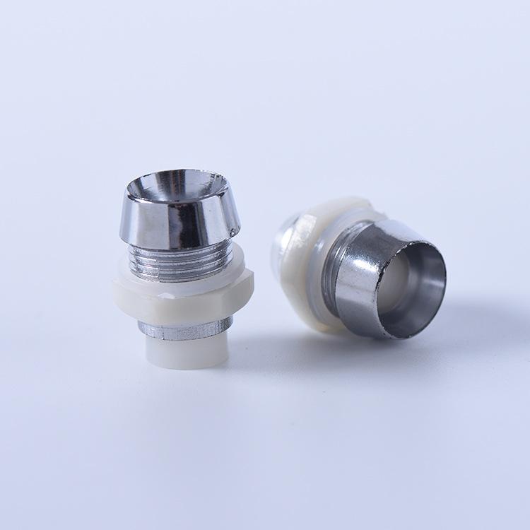 LED灯座  F8发光管座  8mm 塑料管座 发光二极管座 间隔柱 塑料芯