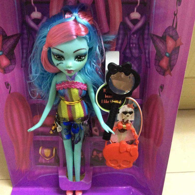 鬼魅美少女贝兹娃娃女巫公主系列 灵异鬼魅娃娃彩盒套装服饰批发