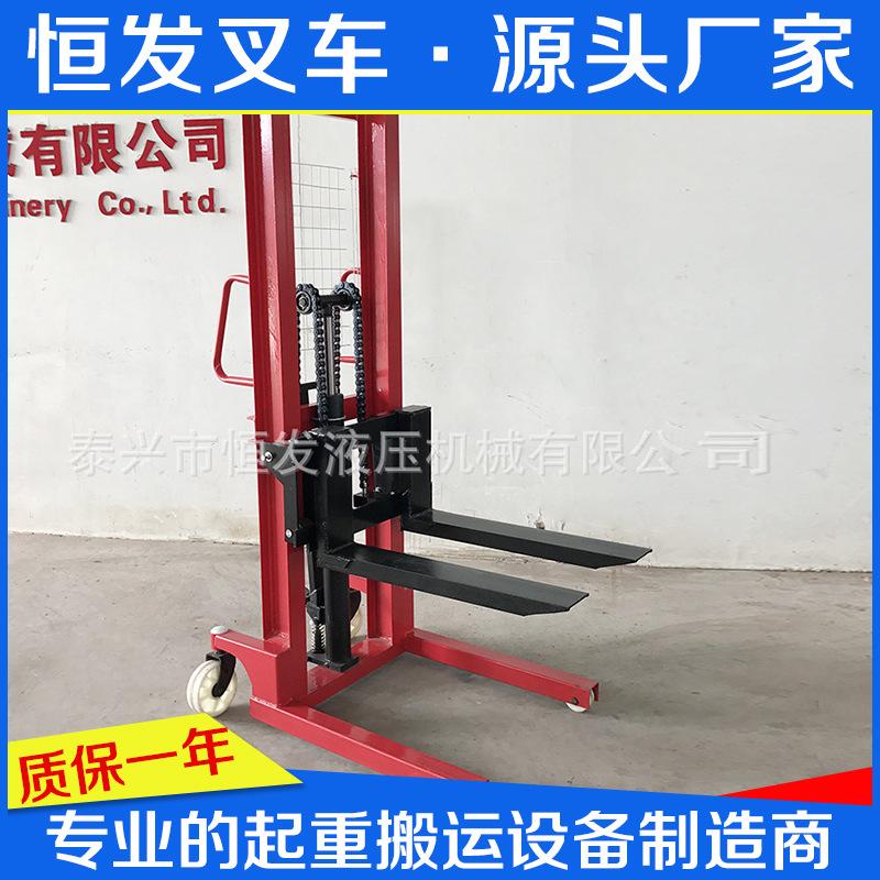 厂家直销 手动堆高车 手动叉车 手动搬运车  非标定做 来电详询
