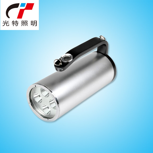 多功能 rjw7102a手提式 防爆探照灯 12w 强光 手电12v 警示信号