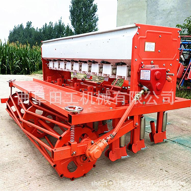 小麦玉米大豆播种机 免耕施肥玉米播种机 多功能一机多用优质播种