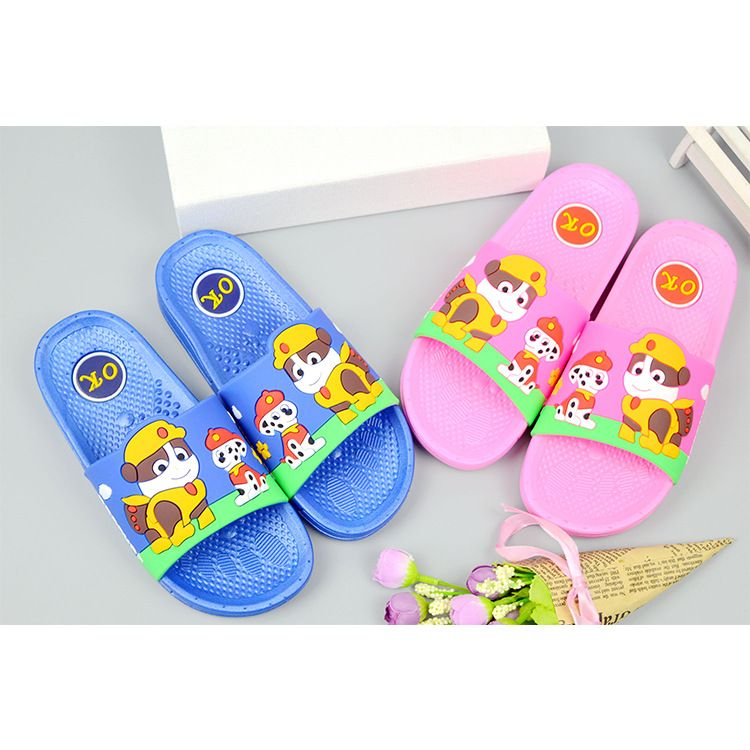 新款中童拖 小狗队长 儿童拖鞋  夏季防滑 浴室家居宝宝鞋