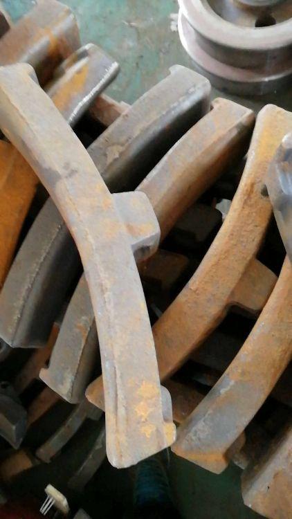 厂家直销铁路铸铁闸瓦 轨温计平板车电瓶车配件轨道专用配件