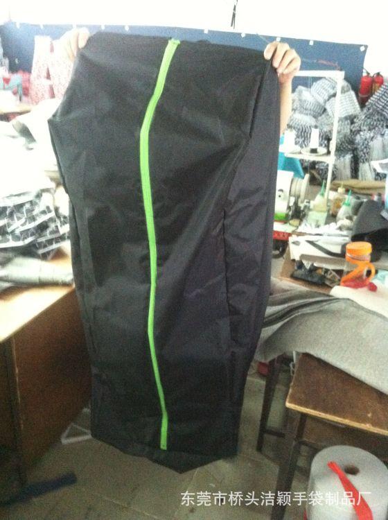 工厂涤纶防尘罩大衣居家挂衣袋西服包装拉链收纳袋garment bag