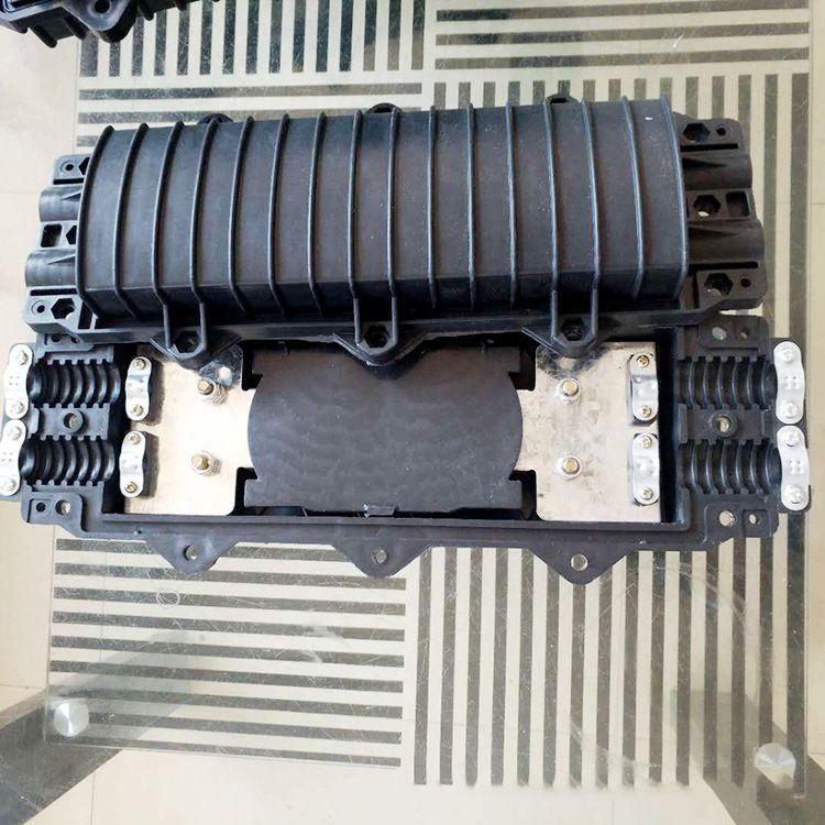 卧式通信接头盒光缆接续盒防水型光纤接线盒现货供应质优价廉