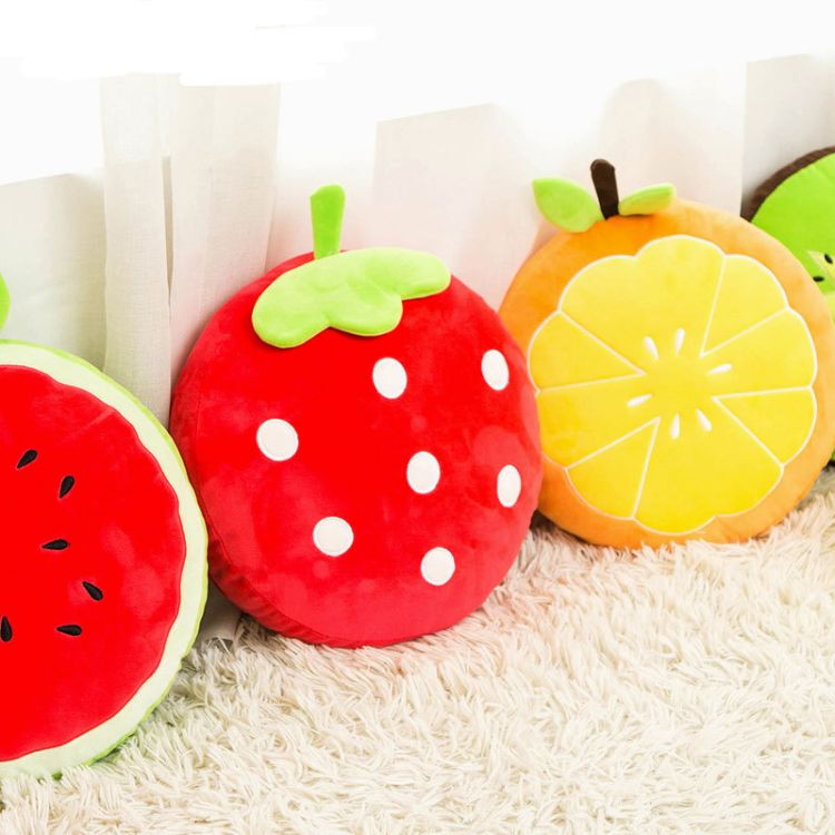 尤物良品暖腰暖宫热水袋甜心水果充电可拆洗热水袋注水毛绒电暖宝