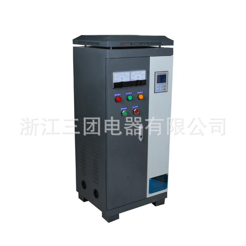 电机软起动柜XSTR-22KW智能在线软启动柜 水泵电机软启动器控制柜