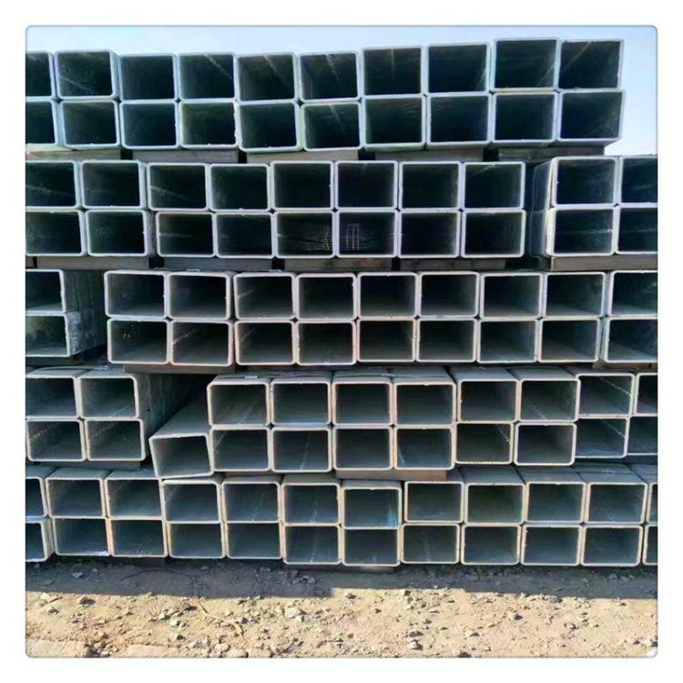 厂家现货供应q235镀锌大棚管 农用温室大棚管定制各规格大棚管